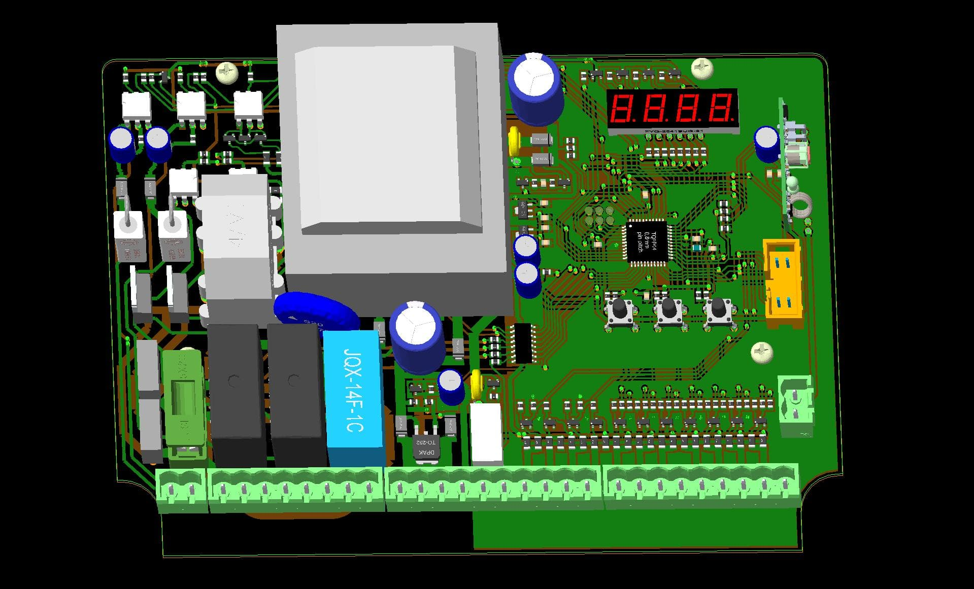 Easyeda Online Pcb Design Amp Circuit Simulator For All Platforms 2 Electronic Printed Board Layout Software Xtronic Wg Drv